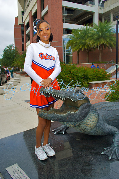Willie Jackson Gators Cheerleaders 2011