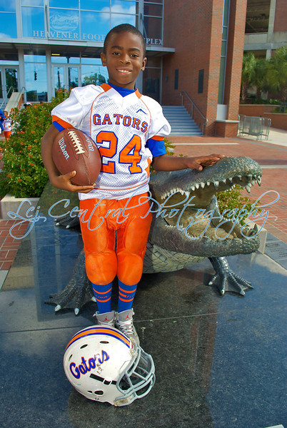 Willie Jackson Gators Tiny & Mitey Mites 2011
